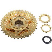 цена на 10S Cassette Freewheel 11-36T 10 Speed Gold Bicycle Freewheel High Quality Mountain Bicycle Tool MTB Flywheel Bike Parts