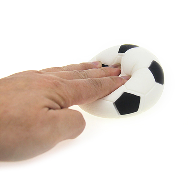 Hot Selling Hand Football Exercise Soft Elastic Stress Reliever Ball Kid Squishy Toys Adult Massage Decompression Novelty Toy