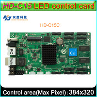 2019 new HD C15 c Full color LED display control card,Async control Support 32 scan LED display module,Onboard 10 HUB75E