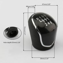 Stick-Gear-Shift-Knob Lever-Shifter IX35 Manual Hyundai 6-Speed Head-Handball for 12-16