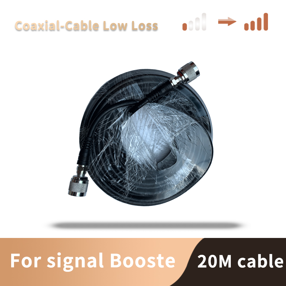 20 Meter  Cable Top Quality 5D Coaxial Cable  N Male To N Male For Signal Repeater Booster And Antenna