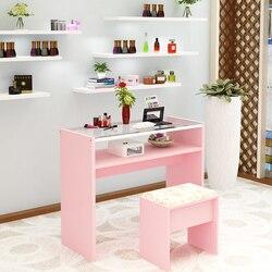 الشمال بسيط بلون دائم واحد مزدوج مانيكير مكتب مكتب كرسي ألواح حبيبية 0.8 متر