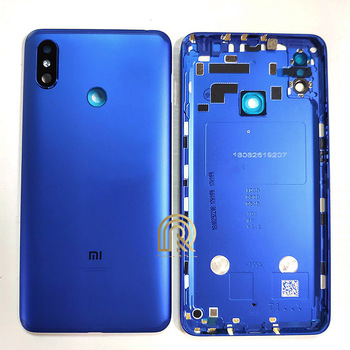 Xiaomi Mi MAX 3 Back Housing Battery Cover Rear Door Case MAX3 Middle Chassis For MiMax3 Back Housing + Camera Lens Replacement