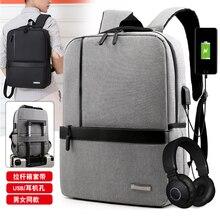 Litthing Slim Laptop Backpack Men Office Work Men Backpack Business Bag Unisex B