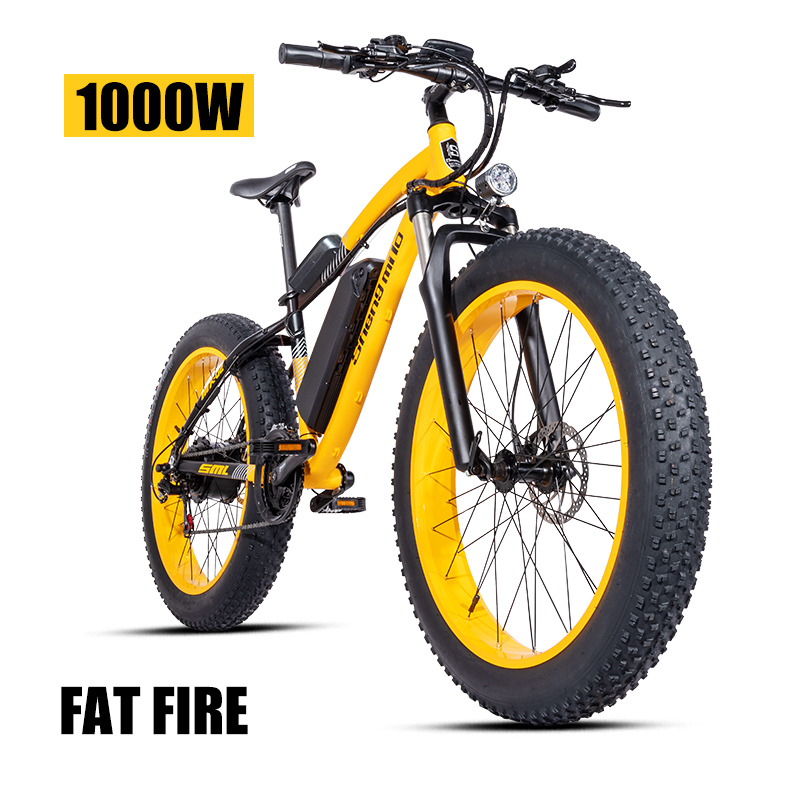 Electric bike ebike 48V1000W electric mountain bike 4.0 fat tire Electric Bicycle beach E-bike electric electric motorcycle 1