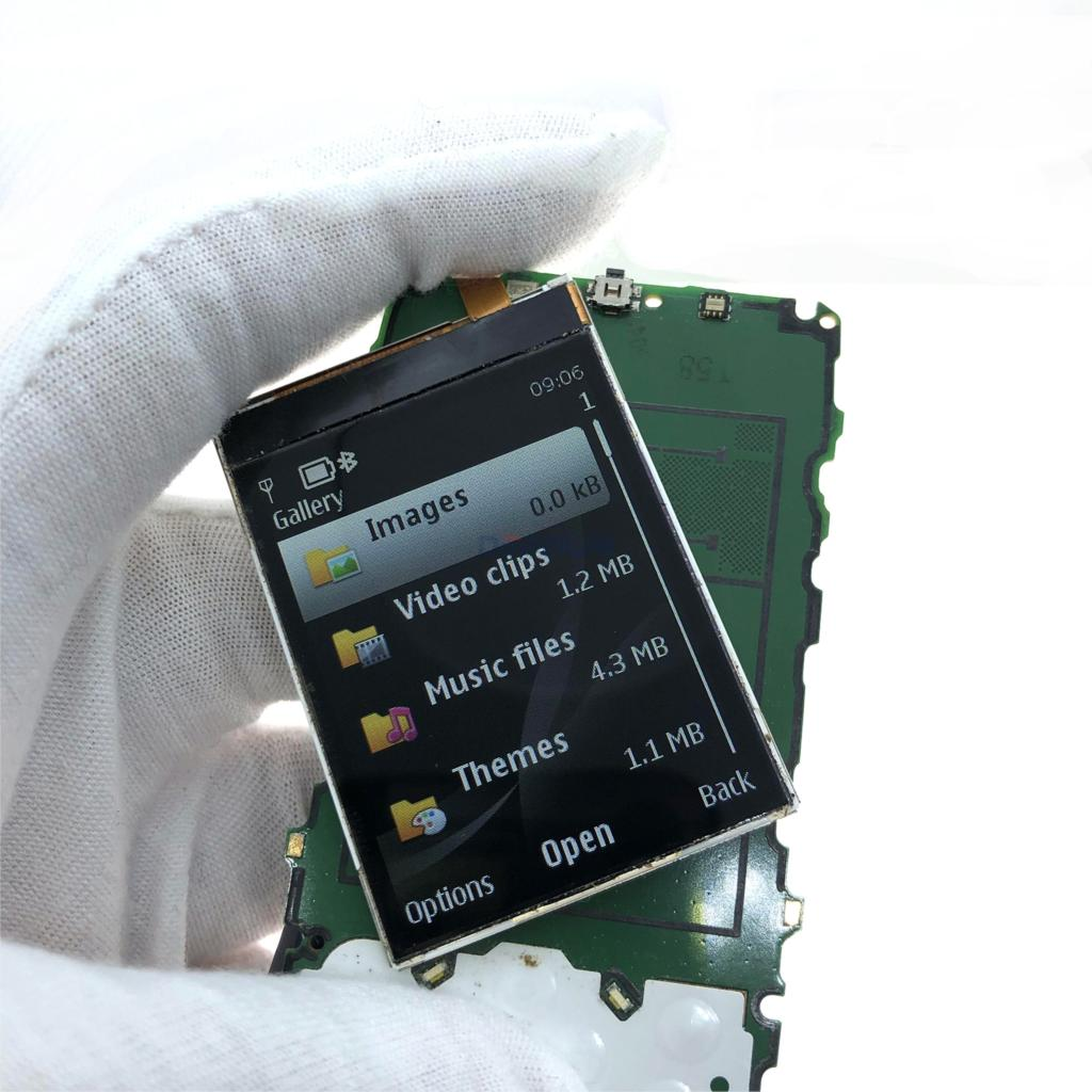 Black LCD Display <font><b>Screen</b></font> Replacement For <font><b>Nokia</b></font> 6300 5320 <font><b>5310</b></font> E51 3120C 6120c 6120 7610S 6500c 7500 8600 6301 LCD image