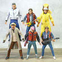 NECA Back to the Future Ultimate Marty McFly Biff Tannen Doc Brown Action Figure Toy