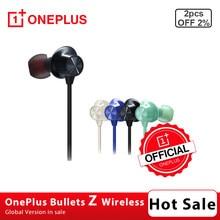 Proiettili OnePlus auricolari Wireless Z controllo magnetico interruttore rapido coppia ordito carica rapida negozio ufficiale OnePlus
