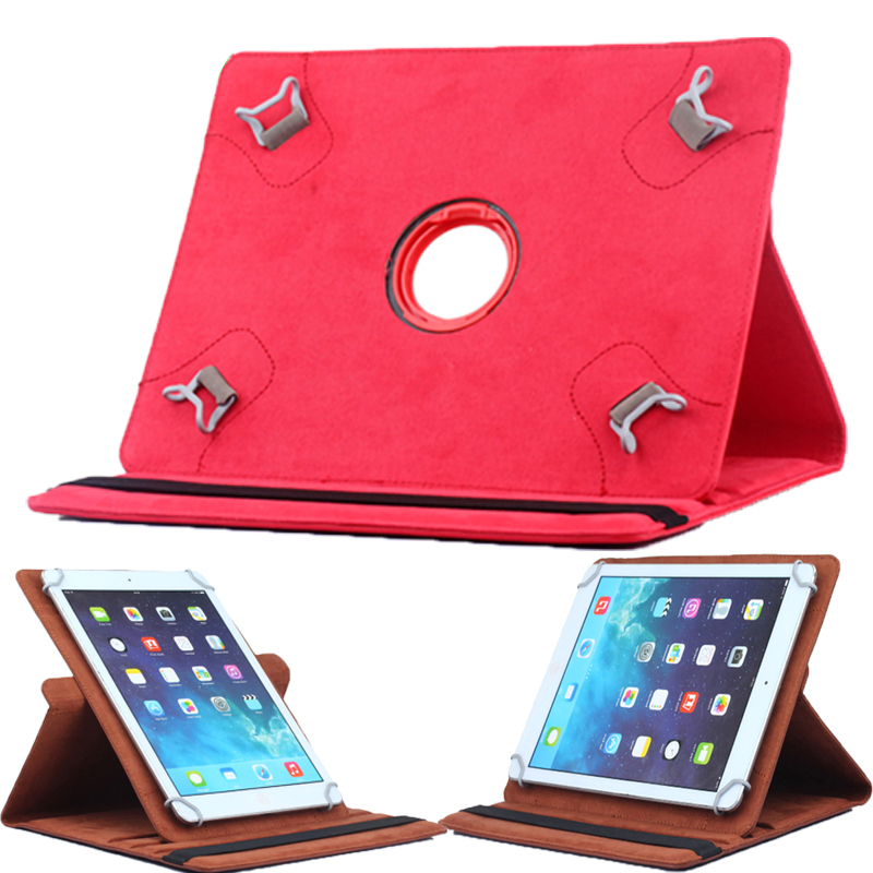 Universal <font><b>10</b></font> Inch Tablet Case Cover 360 Rotating Stand PU Leather Tablet Case For IPAD Air <font><b>1</b></font> 2 3 <font><b>4</b></font> 9.7