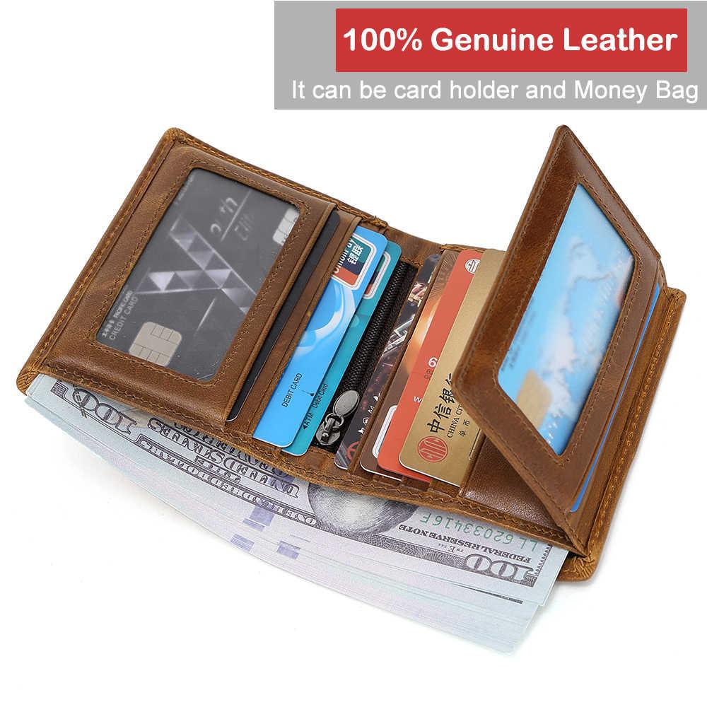 XDBOLO 2020 جديد حقيقي محفظة جلدية رجالي محفظة نسائية للعملات المعدنية الذكور محفظة موضة الرجال محافظ حامل بطاقة صغيرة Walet رجل Portomonee