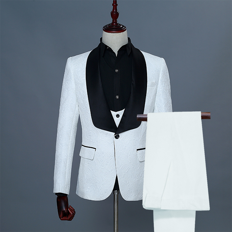 1 white suits