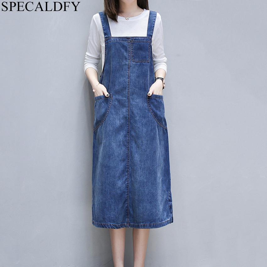 5xl Jeans Dress 2020 Robe Femme Summer Plus Size Dress Women Casual Suspenders Denim Dresses Female Overalls Sundress Dresses Aliexpress