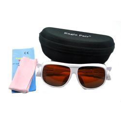 EP-1A CE YAG OD4 + 532nm/1064nm 190nm-540nm i 900nm-1700nm gogle ochronne laserowe okulary ochronne w/Box