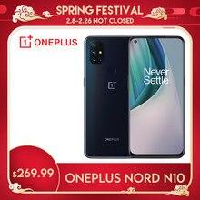 Smartphone oneplus nord n10 5g versão global 6gb 128gb snapdragon690 90hz exibir 64mp quad cams nfc android celular