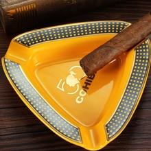 Cigar-Ashtray Gadgets Tobacco Portable Ceramic-3 Home COHIBA