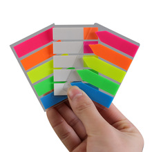 Stationery Note-Label Sticky-Notes Post Index Supply Office-Work Plan Candy-Color School