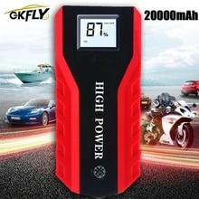 GKFLY High Power 20000MAhรถJump Starter 1000A 12Vอุปกรณ์เริ่มต้นPower Bank Car Chargerสำหรับรถแบตเตอรี่booster Buster LED