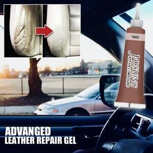 Car Leather Repair Care Kit Liquid Cream Tool Car Seat Sofa Coats Holes Scratch Cracks Restoration Cleaner Car Accseeories