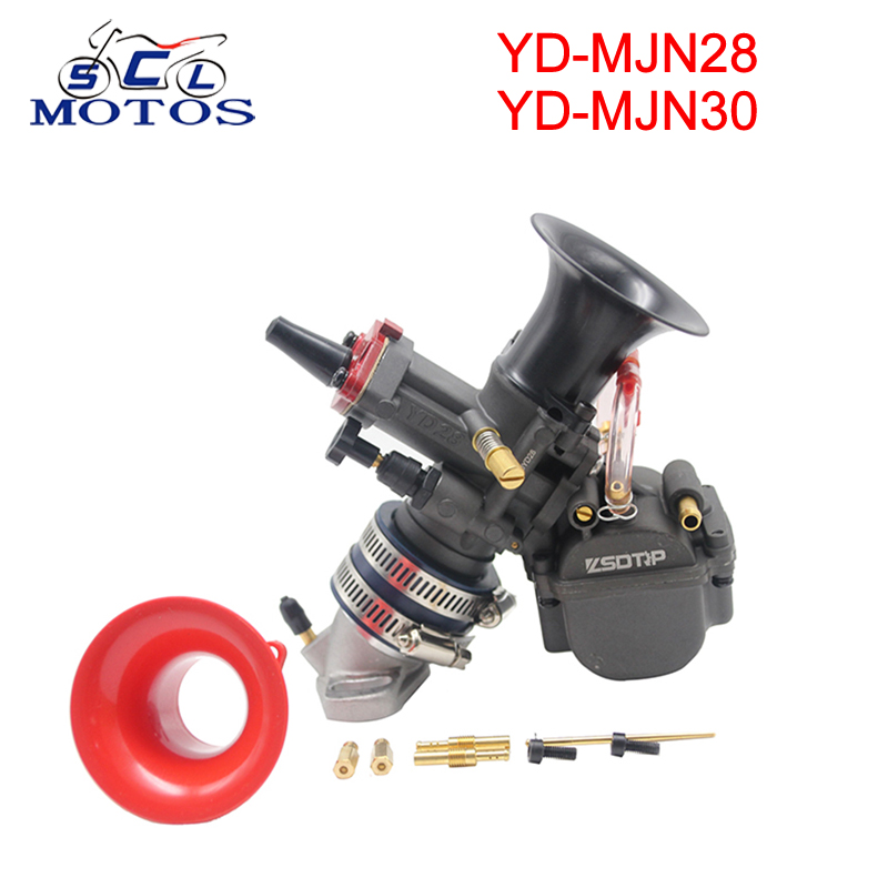 Sclmotos - YD-MJN28 YD-MJN30 Motorcycle PWK Competitive <font><b>Carburetor</b></font> for Single Cylinder Scooter ATV Dirt Bike Cafe Racer <font><b>450</b></font> CRF image