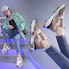 Scarpe sportive da corsa moda autunno 2019 nuove scarpe casual da donna rosse super fire net