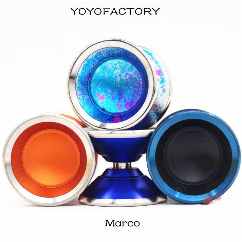 YYF Yoyofactory Marco YOYO  For Professional Metal Yoyo