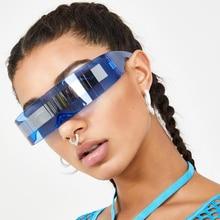 AOZE 2020 luxury super cool women's sunglasses strange Siame