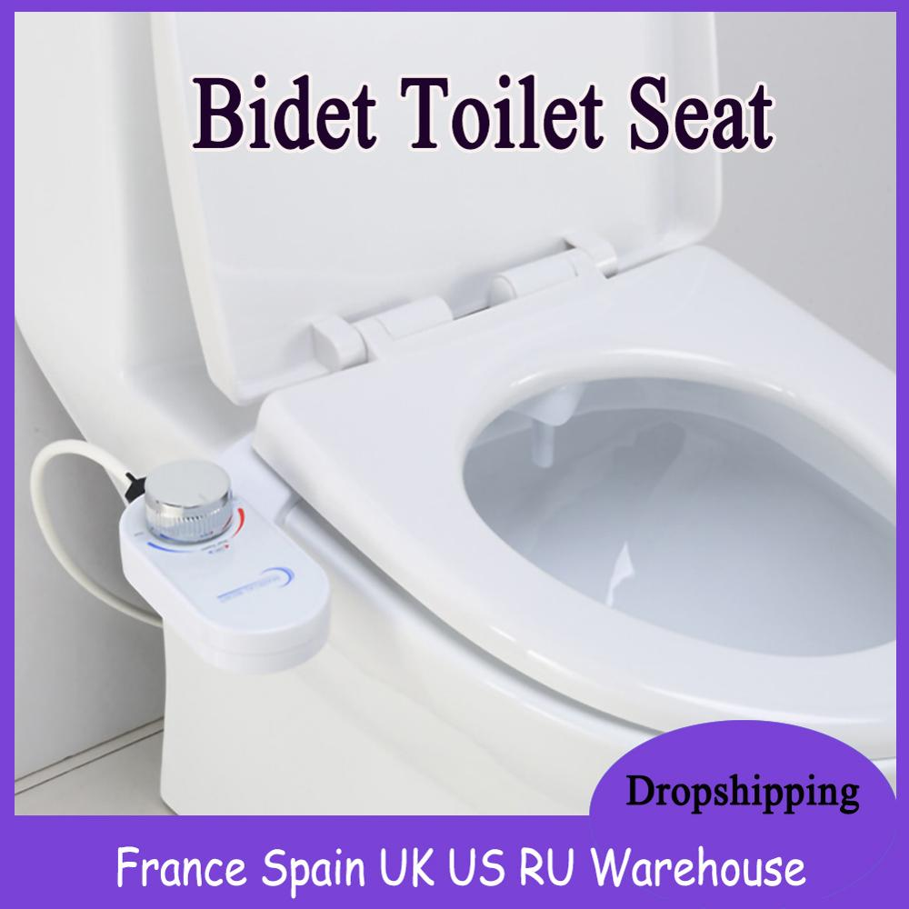 Non Electric Toilet Seat Bidet Self Cleaning Nozzle Fresh Water Bidet Sprayercleans For Personal Hygienic Retractable Outdoor Tools Aliexpress