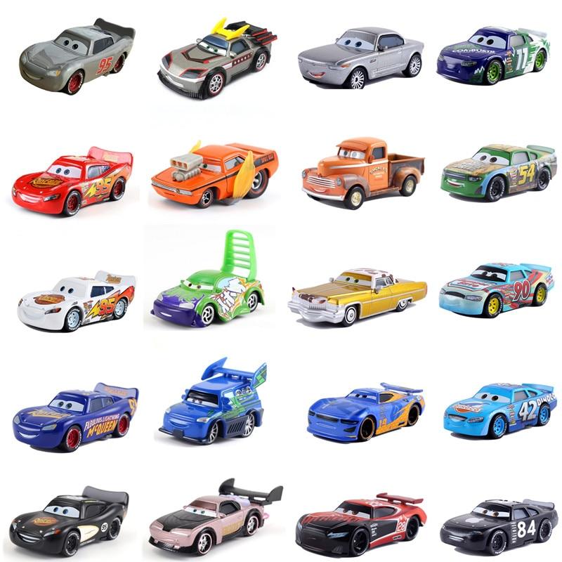 Brand New Disney Pixar Cars 2 Cars 3 Mater Jackson Storm Ramirez 1:55 Diecast Vehicle Metal Alloy Boy Kid Toys Christmas Gift