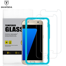 SmartDevil Tempered Glass For Samsung Galaxy S7 S6 Screen Protector C9 Pro Explosion-Proof Film