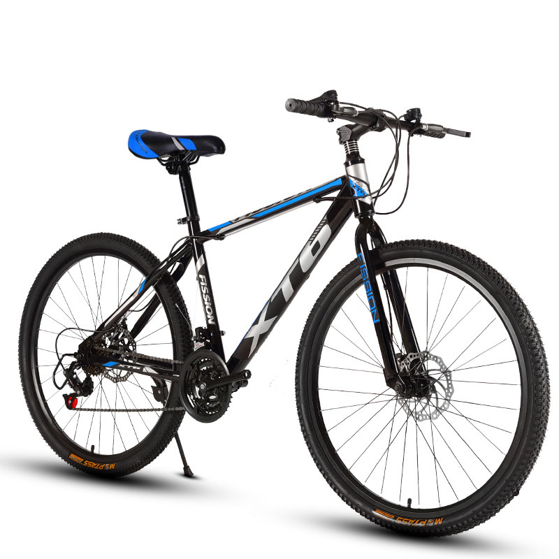 24-inch Mountain Bicycle 21 Speed Adult Variable Speed Bicycle Cross-Country Racing Car With One Wheel For Boys And Girls