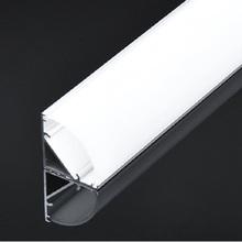 5pcs of 50cm corner profile V shape led aluminium profile 12mm 12V 24V rigid Strip channel 45 degree stair bar light housing cheap thmoother ROHS Industrial Indoor Lighting V shape profile AP-1616 T-tube 1 6cm Aluminum Bar Lights LED Bulbs 3years