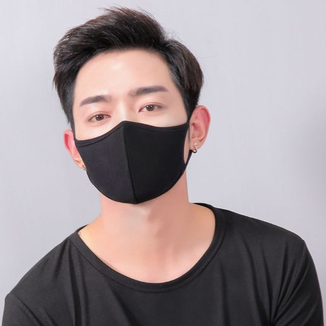 10Pcs Cotton Mouth Mask Anti Dust Pollution Washable PM2.5 Face Mask Reusable M89F 1