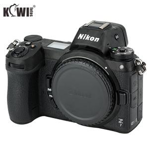 Image 2 - Anti rayures caméra corps couverture 3M autocollant protecteur pour Nikon Z7 Z6 anti dérapant support de prise en main peau garde bouclier ombre noir
