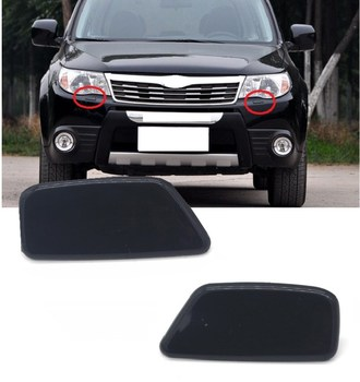 Lofty Richy For Subaru Forester 2008 2009 2010 2011 2012 Car Left & Right Headlight Washer Nozzle Jet Cover Cap 86636SC030VW image