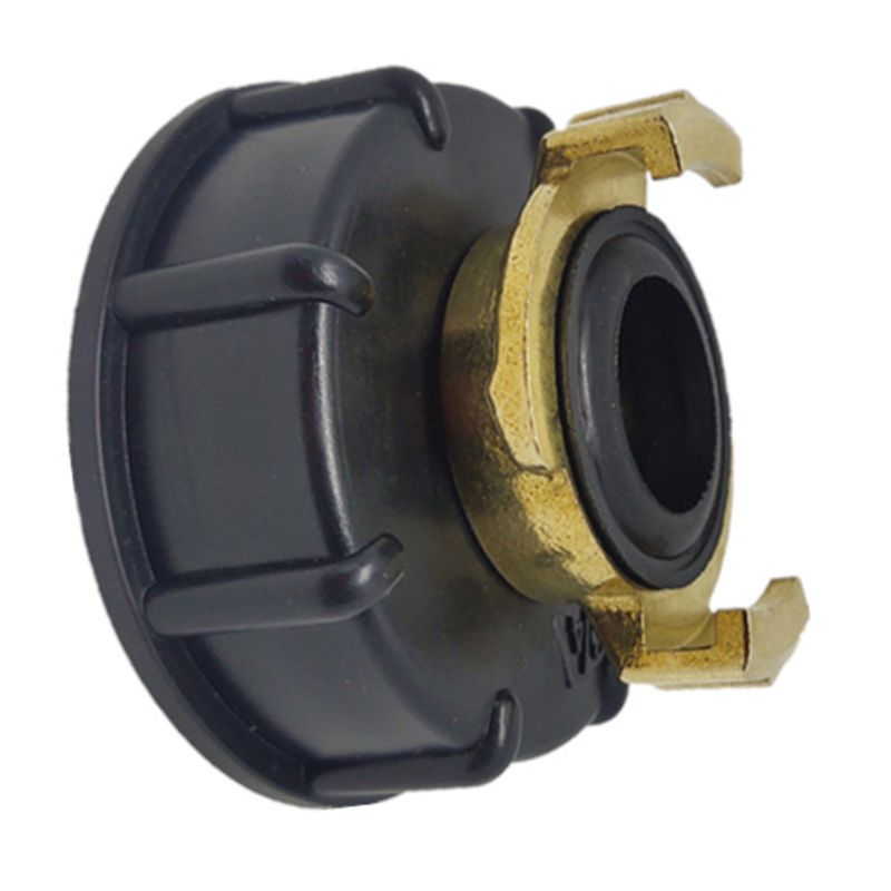 Water storage tank IBC Tank adapter S60X6 <font><b>geka</b></font> style hose connector Irrigation Practical Outlet Thread Accessories Fittings63HF image