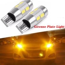 цена на 2X Car Interior License Plate Light T10 LED For Alfa Romeo 159 147 156 166 GT Mito Acura MDX RDX TSX Fiat 500 Punto Stilo Bravo