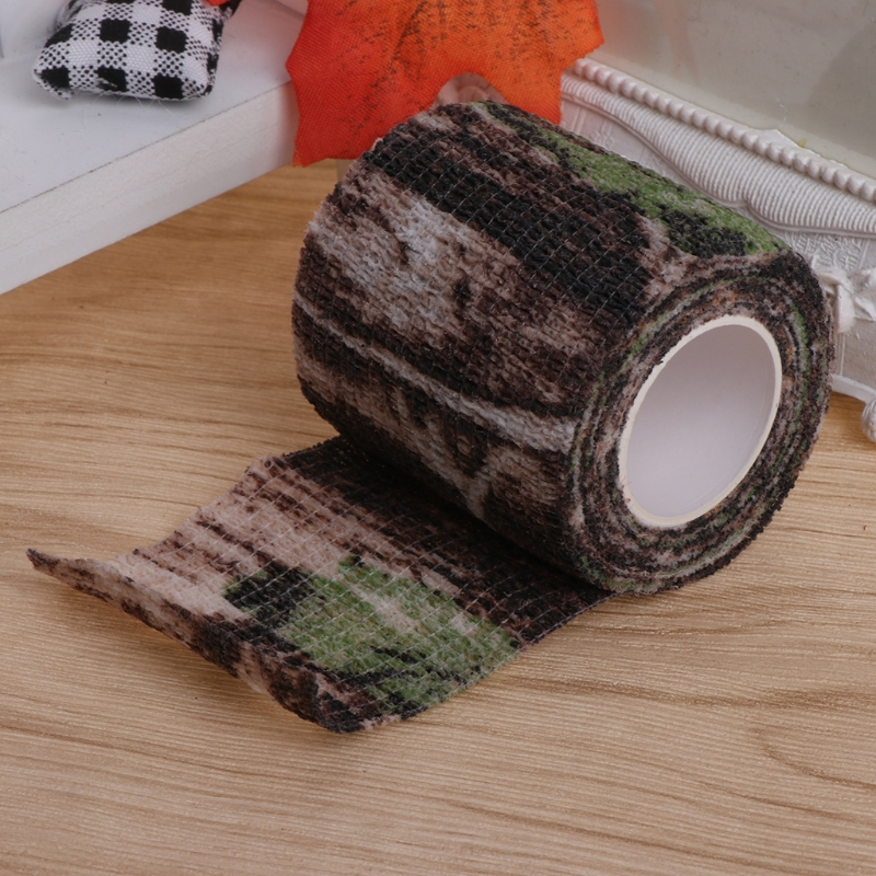 Army Camo Outdoor Hunting Shooting Tool Camouflage Stealth Tape Waterproof Wrap