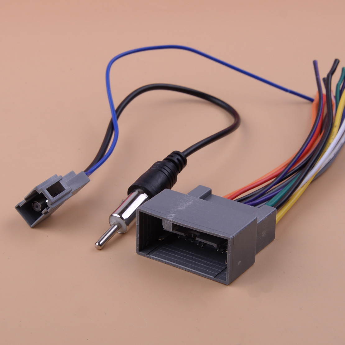 2 pcs <font><b>Radio</b></font> Stereo Wire Wiring Harness Cable Antenna <font><b>Adapter</b></font> Fit For <font><b>Honda</b></font> Civic CRV Odyssey <font><b>Jazz</b></font> TSX Acura image