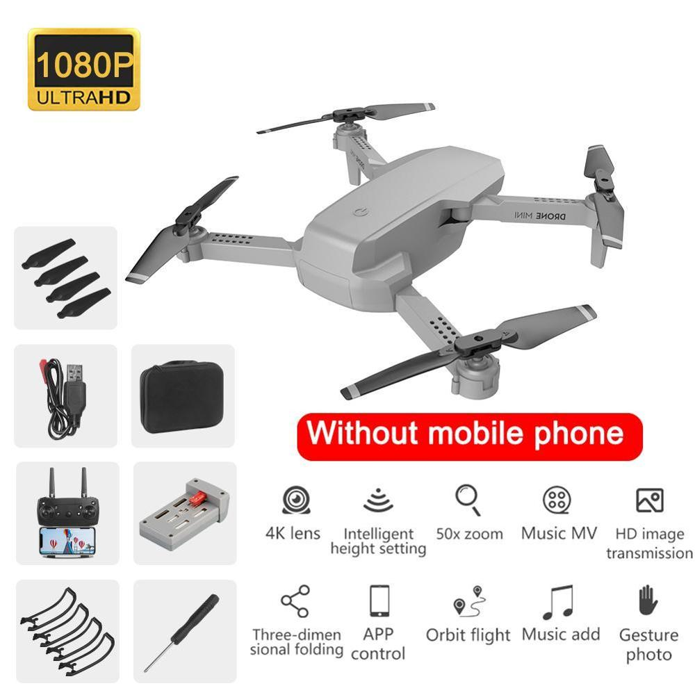 E88 drone 4k HD wide-angle camera drone WiFi 1080p real-time transmission FPV drone follow me rc Quadcopter