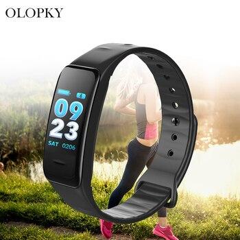 Sleep Tracker Heart Rate Fitness Pedometer Bracelet Smart Watch Steps Counter Wrist Blood Pressure Oxygen Monitor Measurement фото