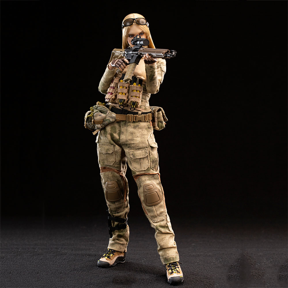 "1//6 Scale Female Black Soldier Combat Pants For 12/"" Action Figure Body Model Toy"