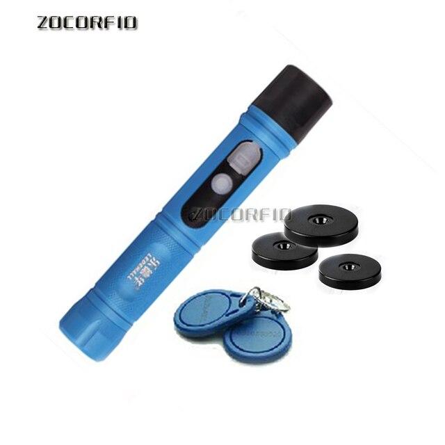 125KHZ 방수 IP67 Rugger RFID 가드 투어 순찰 시스템, 보안 순찰 지팡이, LED 조명 + 10 태그와 가드 투어 장치