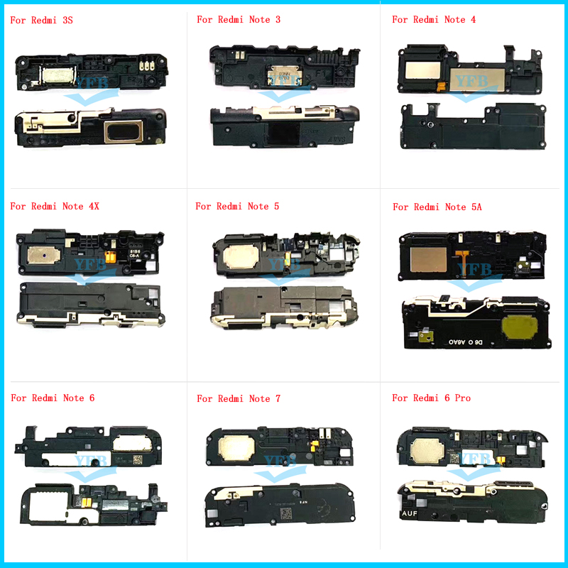 Buzzer Ringer Loudspeaker Xiaomi Redmi 3s Flex-Cable Note for 6-pro/Note/3/.. title=