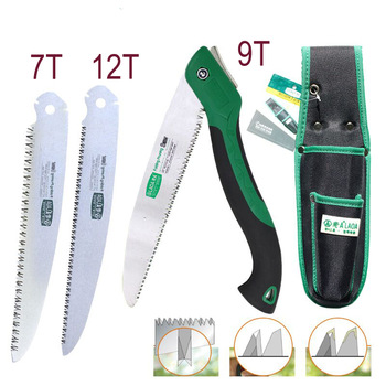 LAOA Portable Folding Saw 7T/12T Hand Saw 250mm Pruning Shears Serra Gardening Tool Hunting Implement 1