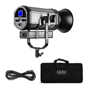 Image 5 - GVM RGB 150S COB RGB 풀 컬러 LED 비디오 라이트 CRI 95 + TLCI 95 + 바이 컬러 2000K 5600K 디 밍이 가능한 사진 용 비디오 스튜디오 DSLR