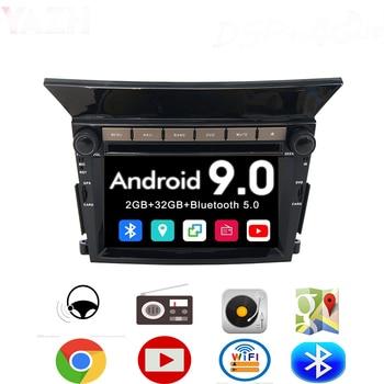 цена на YAZH Android 9.0 Auto Radio GPS Navigation For Honda Pilot 2009 2010 2011 2012 Car Stereo 32GB Car CD DVD Player Multimedia