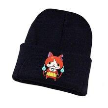 anime Yokai Watch Knitted hat Cosplay hat Unisex Print Adult Casual Cotton hat teenagers winter Knitted Cap hasbro yokai watch b5943 йо кай вотч часы