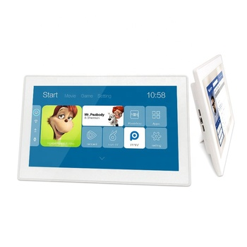 15.6 inch portable touch screen monitor all in one PC android wall mount tablet PC with rj45 serial port
