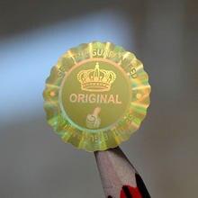 20x20mm 25x25mm oryginalna oryginalna gwarantowana VOID naklejka z hologramem z koroną kciuki w górę jakość w kształt kwiatu 2000 sztuk za dużo