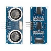Free shipping 100pcs Ultrasonic Module HC SR04 Distance Measuring Transducer Sensor